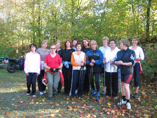 15 Jahre UFH Oberberg: Nordic Walking